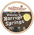 Welcome to Borrego Springs - island in the desert