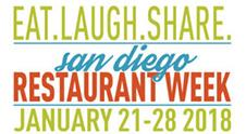 San Diego Restaurant Week January 2018
