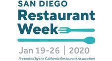 San Diego Restaurant Week - January 2020