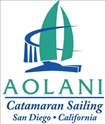 Aolani Catamaran Sailing San Diego logo