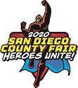 2020 San Diego County Fair logo