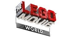 The LEGO MOVIE WORLD Logo