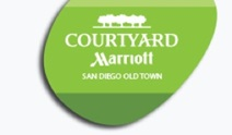 logo for the Courtyard by Marriott Old Town