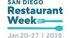 San Diego Restaurant Week - Jan 20-27, 2019