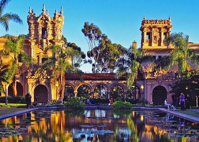 Discover Hillcrest Uptown and Balboa Park in San Diego – Tourist Attractions Map San Diego