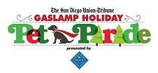 2017 Gaslamp Holiday Pet Parade Logo