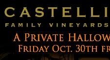 Castelli Family Vineyards HalloWINE PARTY