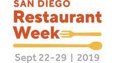 San Diego Restaurant Week - September 2019