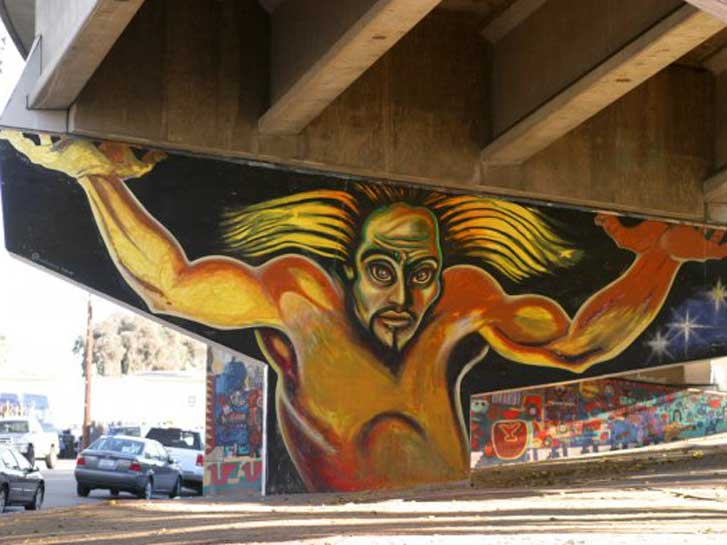 Chicano Park Mural Colossus