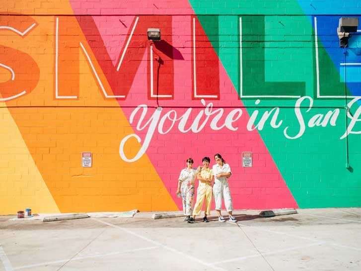Smile You're in San Diego Mural