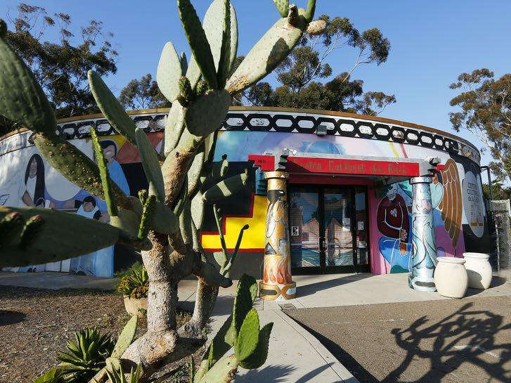 Centro Cultural de la Raza in Balboa Park San Diego