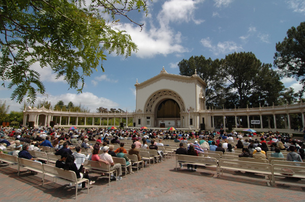 Spreckles Organ in Balboa Park