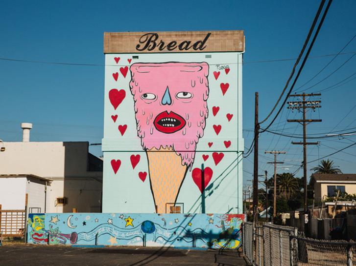 La calors & Ten Sweet Spots for San Diego Street Art