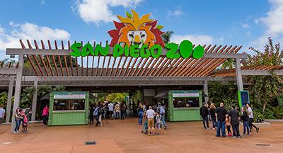 San Diego Zoo Enterance