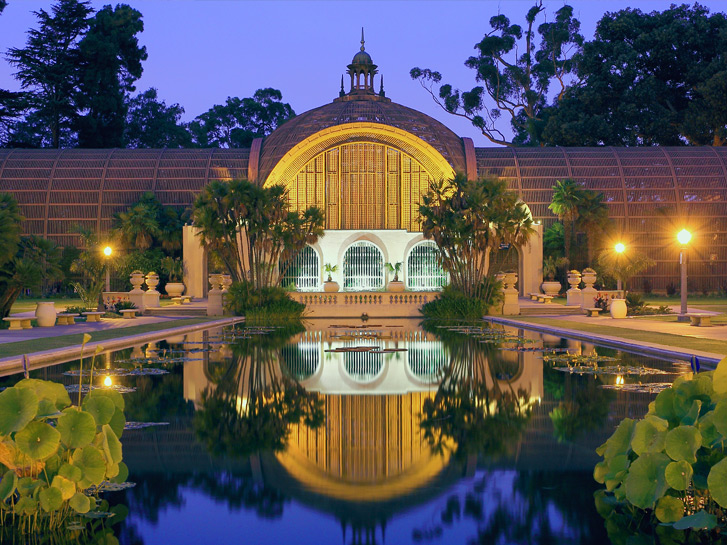 Botanical Building in Balboa Park San Diego