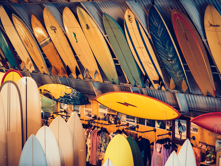 Alana Faves at Birds Surf Shed | San Diego CA