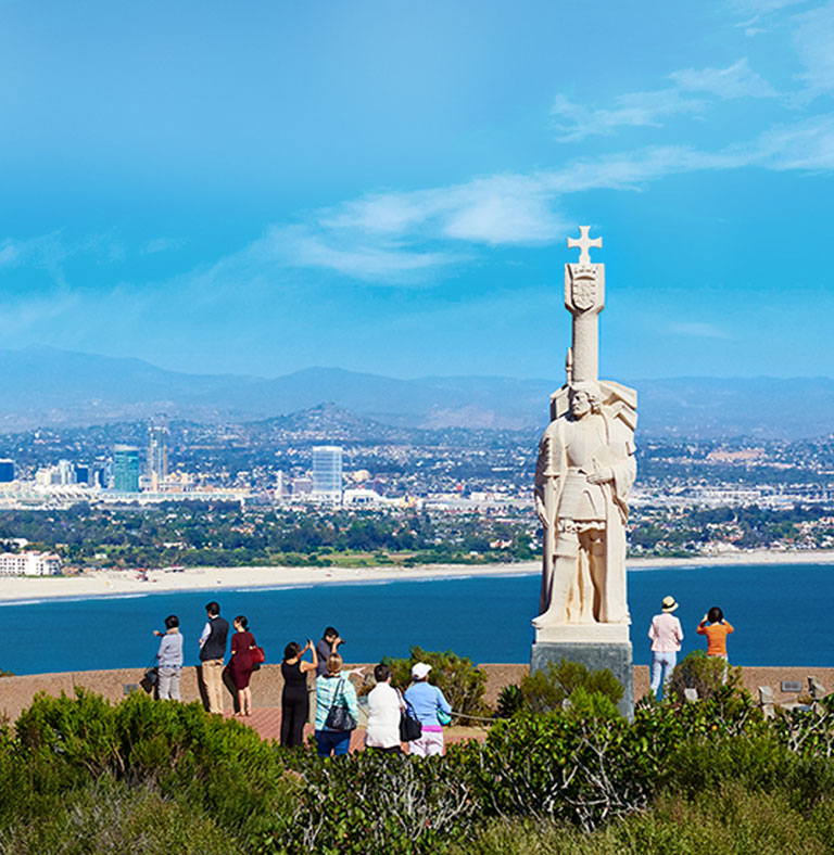 Cabrillo Monument in San Diego CA