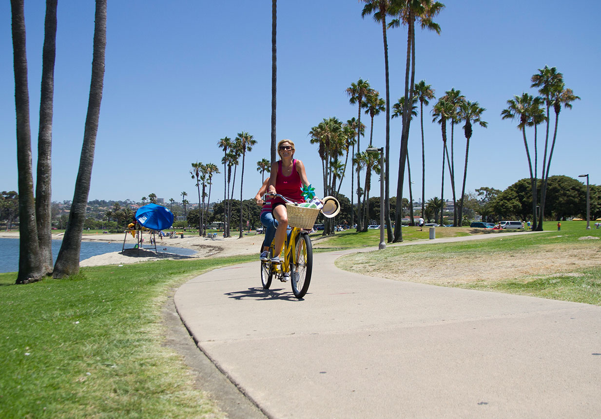 San Diego Bike Paths Mission Bay