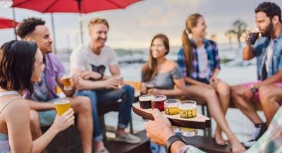 Friends Enjoying a Beer - Top November Events
