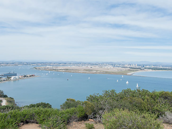 The Bayside Trail, Cabrillo National Monument - Coastal Hikes in San Diego