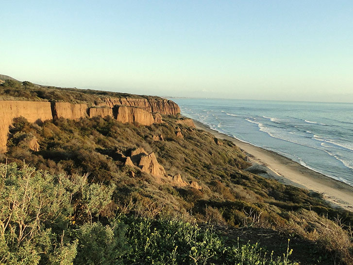 San Onofre State Beach - Coastal Hikes in San Diego