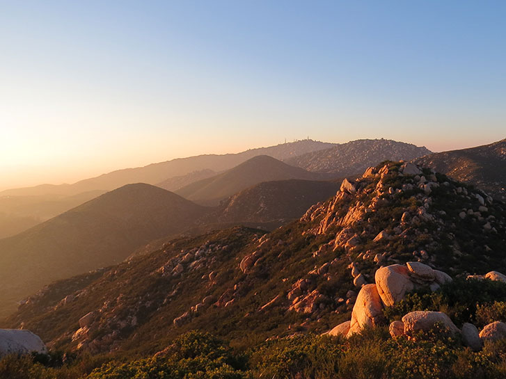 Best Inland Hikes in San Diego County - Iron Mountain