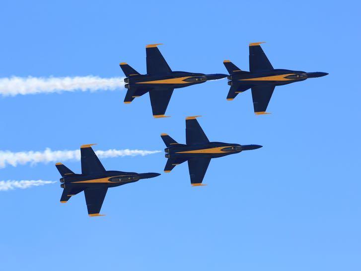 Blue Angels at the Miramar Air Show