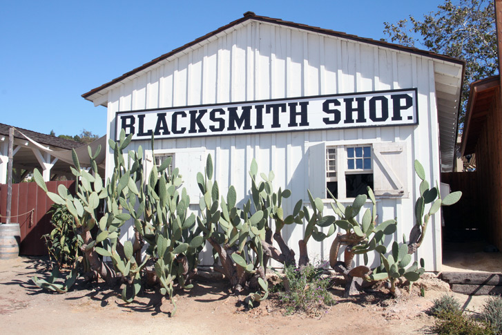 Old Town Blacksmith Building