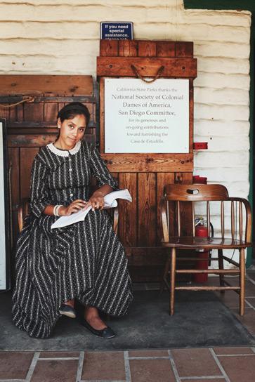 Old Town History Reenactor Matthew Baldwin