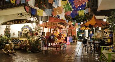 Bazaar del Mundo in Old Town San Diego State Historic Park