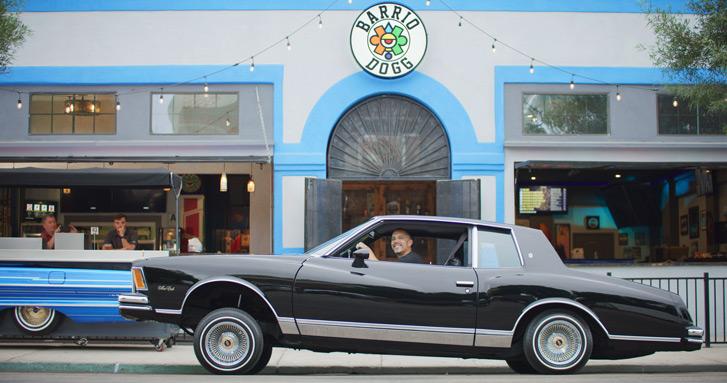 Barrio Dogg Restaurant San Diego