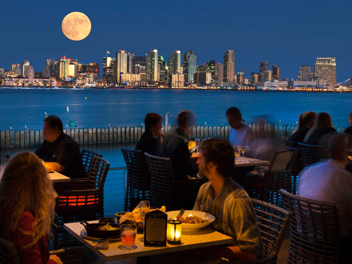 Dining with a view in San Diego County