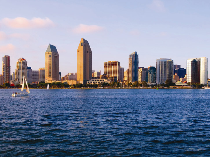 Dining with a view aboard the Hornblower Cruise in San Diego County