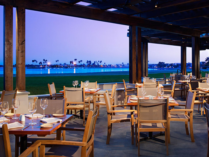 Dining with a view at Oceana Coastal Kitchen in San Diego County