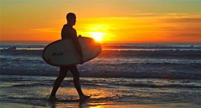 San Diego surf scene