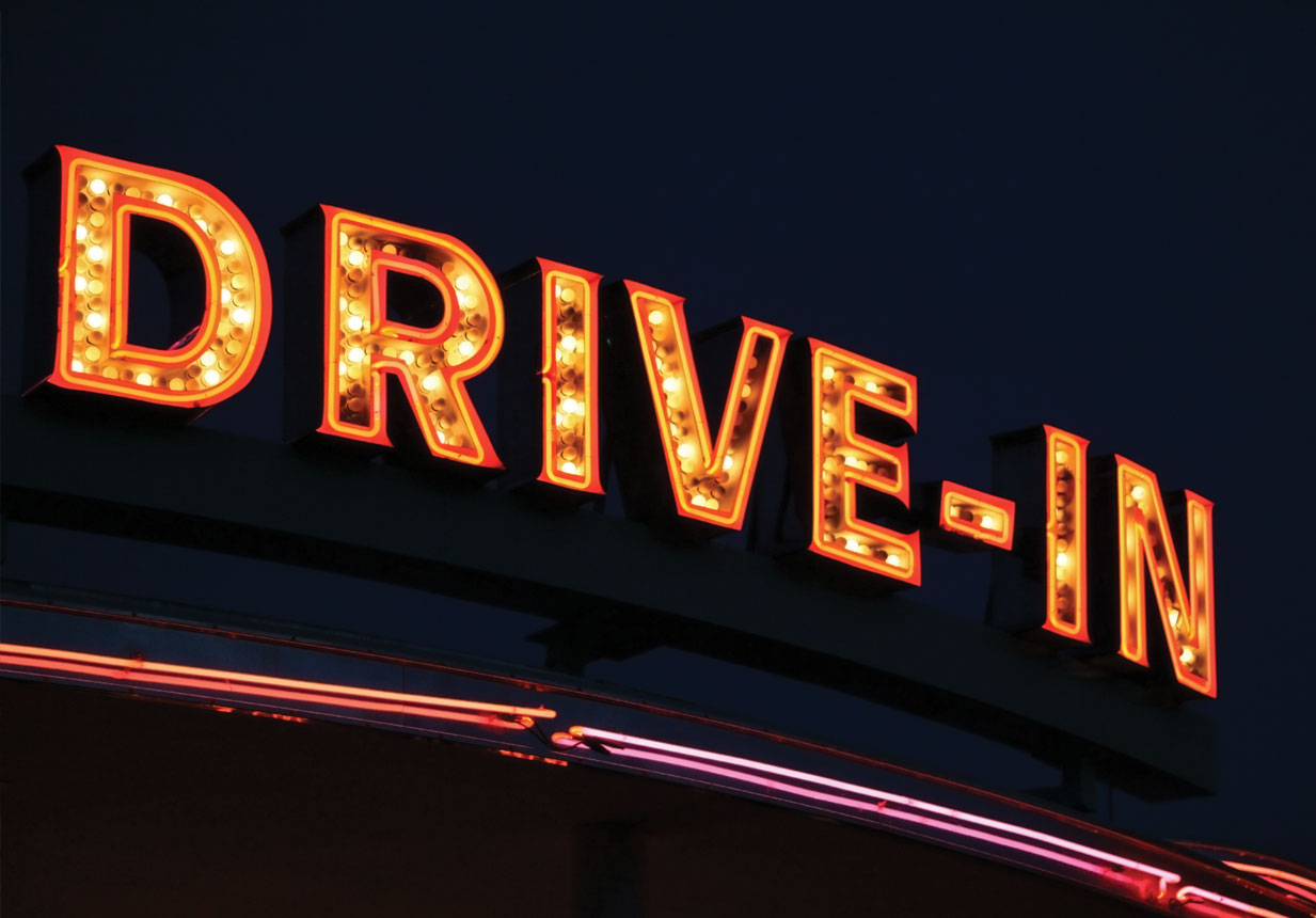 San Diegos Drive In Movie Theaters