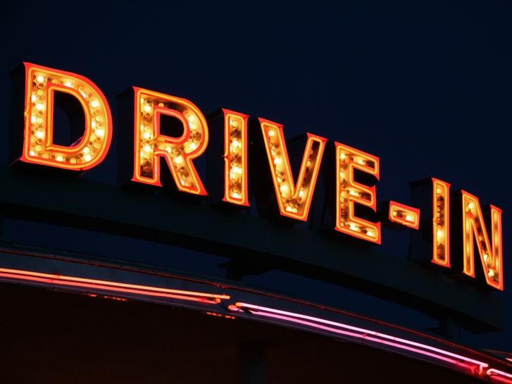 Catch a movie at a Drive In Theater in San Diego