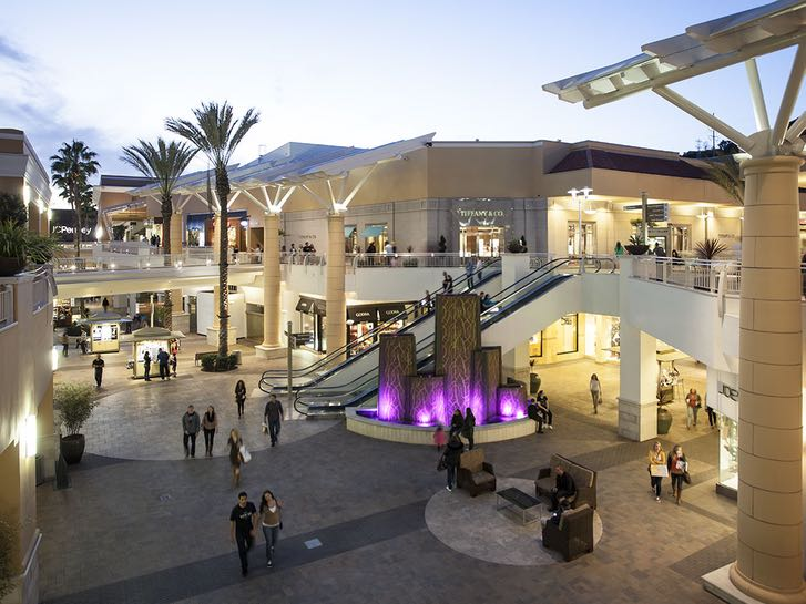 Fashion Valley Mall in Mission Valley San Diego