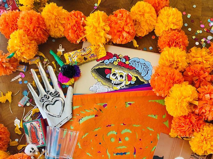 Dia de Muertos supplies from Artelexia