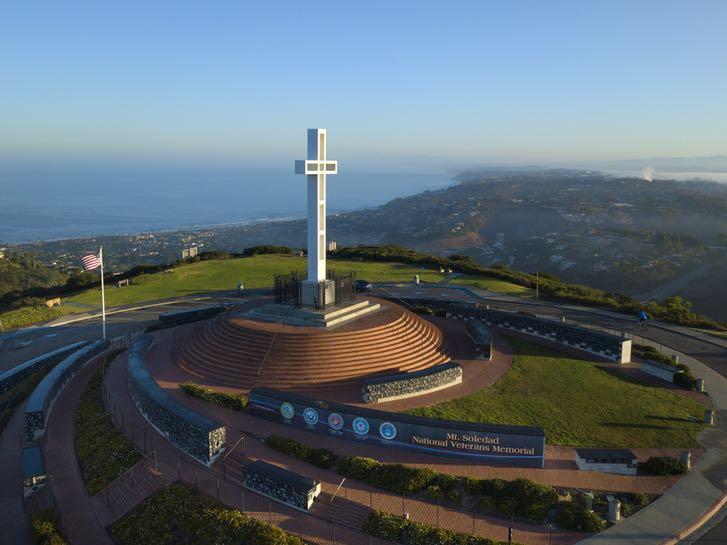 Mount Soledad Cross in La Jolla