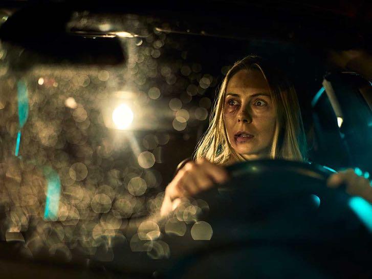 Scared Driver at Drive Thru Scream Zone