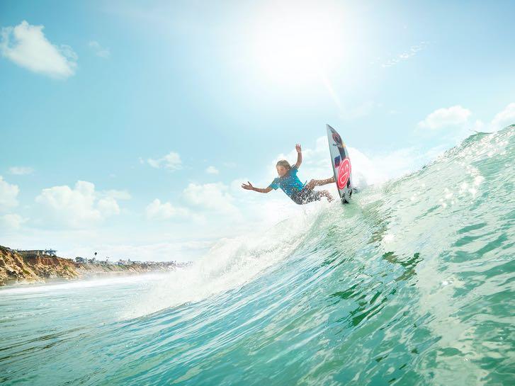 Surf in San Diego