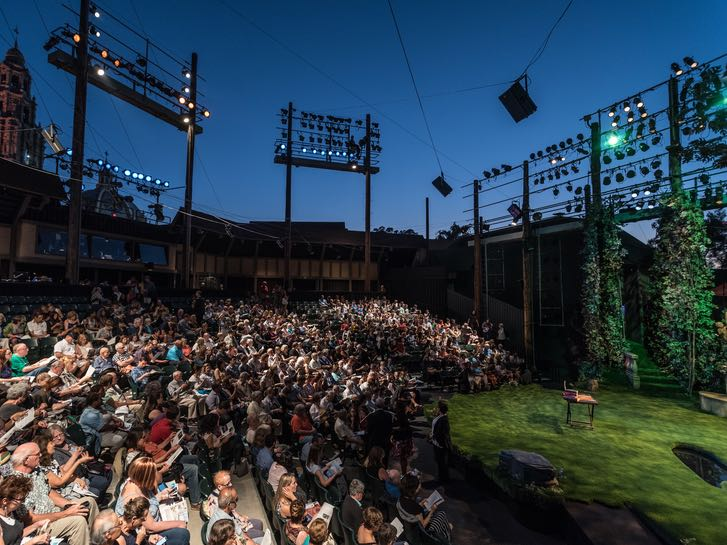 Outdoor theater at the The Old Globe in Balboa Park