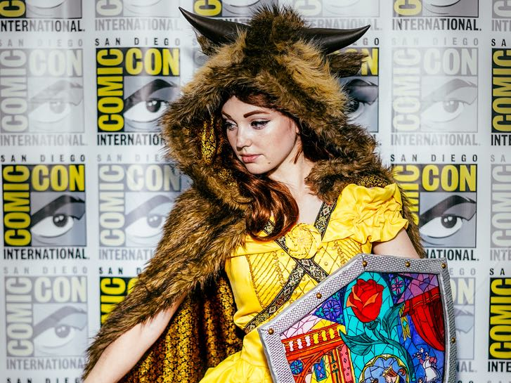 Cosplayer at Comic Con International in San Diego