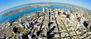 Aerial View of Downtown San Diego and Beyond!