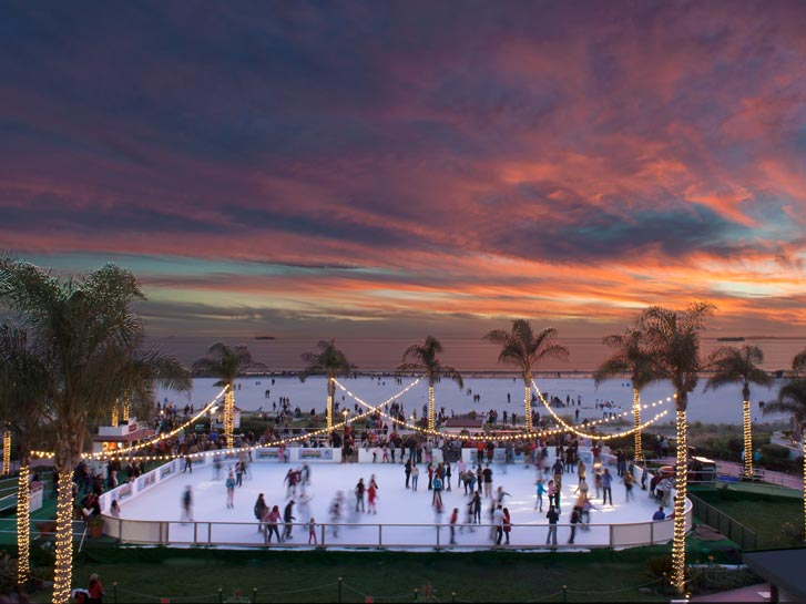 Hotel Del Coronado Holiday Ice Rink
