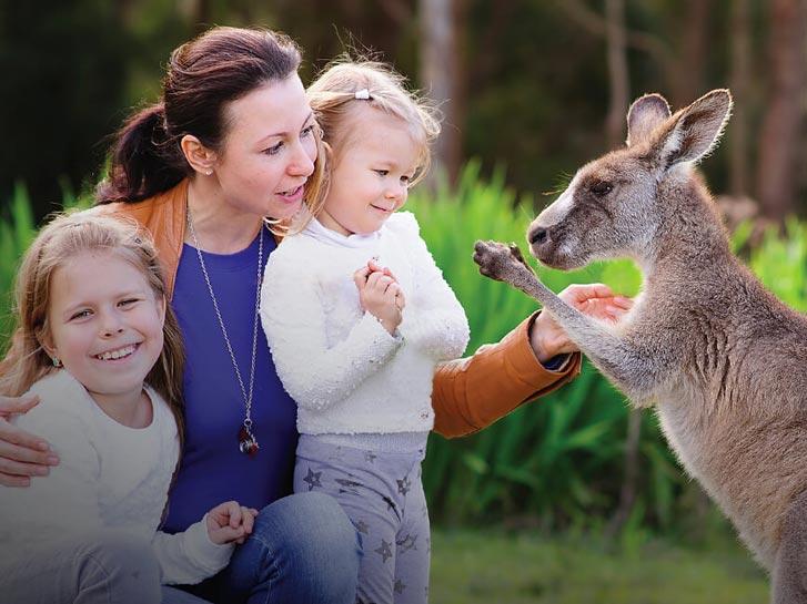 San Diego Zoo Safari Park's Walkabout Australia