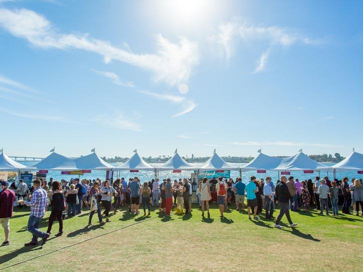San Diego Bay Wine + Food Festival