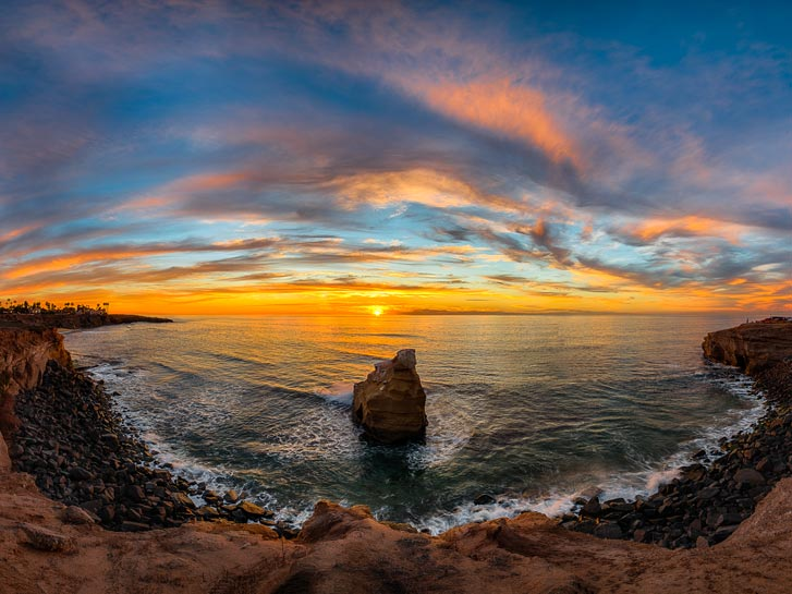 Sunset Cliffs - Spots to Watch the Sunset
