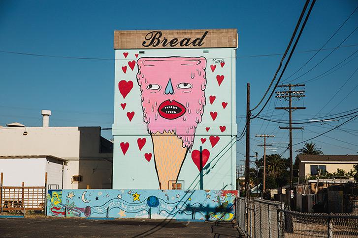Murals in Barrio Logan San Diego